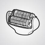 Головка для эпиляции ног/рук WESEL3AW1068 для эпилятора Panasonic ES-EL2A-A520