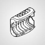 Насадка для деликатной эпиляции WESED70G3108 для эпилятора ES-ED70-G520