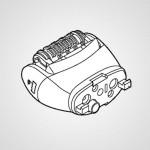 Головка для эпиляции ног/рук WESED93W1068 для эпилятора ES-ED53-W520