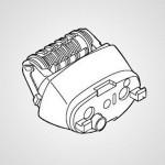Головка для эпиляции ног/рук WESEU20W1068 для эпилятора ES-EU10-V520