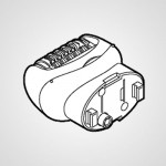 Головка для эпиляции ног/рук WESWD51W1067 для эпилятора ES-WD70-P530