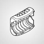 Насадка для деликатной эпиляции WESWD54N3108 для эпилятора ES-WD54-N520
