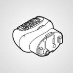 Головка для эпиляции ног/рук WESWD72W1068 для эпилятора ES-WD74-A520