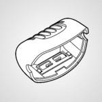 Насадка для эпиляции ног/рук WESWS10W3008 для эпилятора ES-WU41-P520