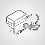 Адаптер переменного тока WESWU11W7661 для эпилятора ES-WU41-P520