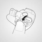 Резервуар для воды EHHS60TJAWW к щипцам для волос Panaspnic EH-HS60-W865