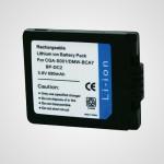 Аккумулятор CGA-S001 для фотоаппарата Panasonic Lumix DMC-F1