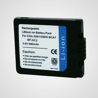 Аккумулятор CGA-S001 для фотоаппарата Panasonic Lumix DMC-FX1 .