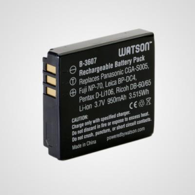 Аккумулятор CGA-S005 для фотоаппарата Panasonic Lumix DMC-FX3 .