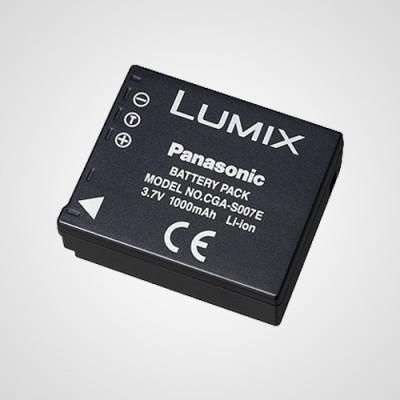 Аккумулятор CGA-S007 для фотоаппарата Panasonic Lumix DMC-TZ11 .