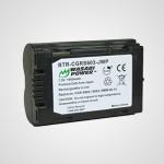 Аккумулятор CGR-S603 для фотоаппарата Panasonic Lumix DMC-LC40