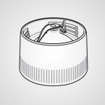 Основание контейнера измельчителя с режущим лезвием AVE88-2195K0 для соковыжималки MJ-DJ31STQ