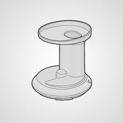 Крышка с горловиной для закладки продуктов JA03-153-K0 для соковыжималки MJ-L500NTQ .