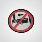 Ярлык предупреждения JY17E153 для соковыжималки MJ-L500STQ
