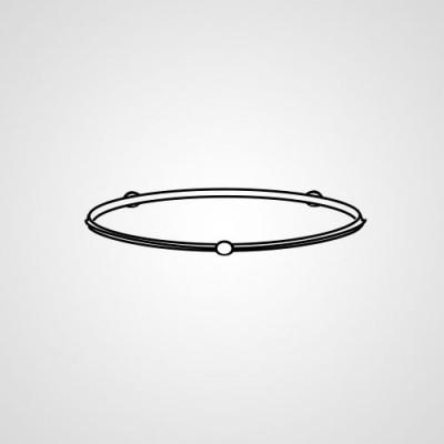 Роликовое кольцо F290D5G00XN для микроволновки Panasonic NN-C785JFZPE.