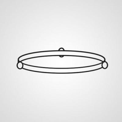 Роликовое кольцо F290D6S10XP для микроволновки Panasonic NN-SM330WZPE.
