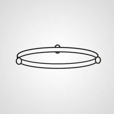 Роликовое кольцо F290D9W00XP для микроволновки Panasonic NN-GT370MZPE.
