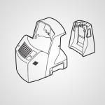 Подставка для подзарядки и самоочистки WESLA93K4218 для электробритвы ES-LA93-K820