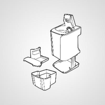 Подставка для подзарядки и самоочистки WESLV95K4219 для электробритвы ES-LV95-S820 .