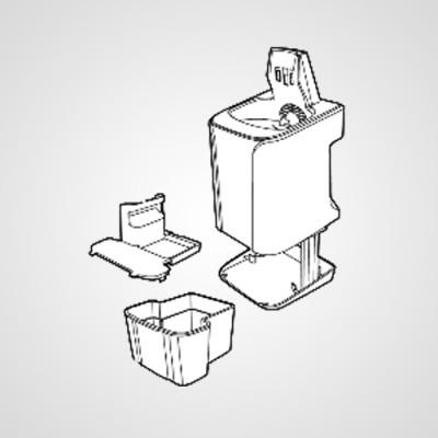 Подставка для подзарядки и самоочистки WESLV9NK4218 для электробритвы ES-LV9N-S820 .