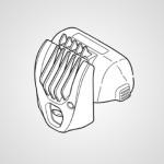 Насадка-гребень WESRT77S7208 для электробритвы ES-RT77-S520