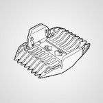 Насадка-гребень WER1410K7408 для триммера ER1410S520