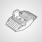 Насадка-гребень WER1410K7418 для триммера ER1420S520