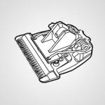 Сменный нож для триммеров Panasonic WER9352Y1361
