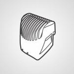 Насадка-гребень WERGB80K7478 для триммера ER-GB80-S520