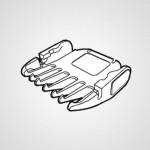 Насадка-гребень WERPA10K7397 для триммера ER-GP21-K820
