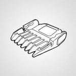 Насадка-гребень WERPA10K7407 для триммера ER-GP21-K820