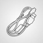 USB кабель K2KYYYY00236 для видеокамеры Panasonic HC-V260EE-W